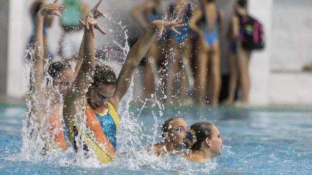 В Калининграде проходит первенство СЗФО по синхронному плаванию (фоторепортаж)