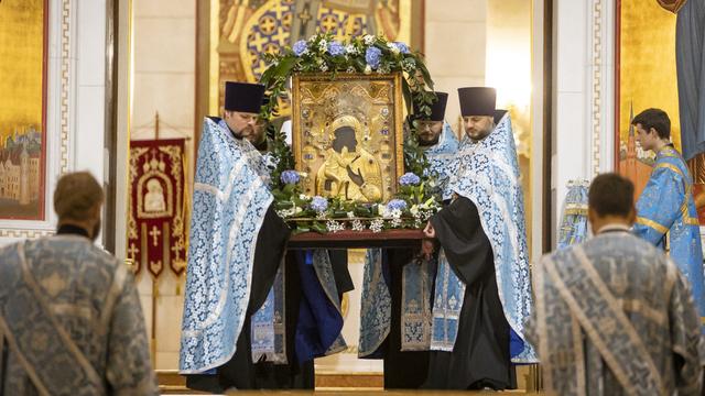 В Калининград привезли чудотворную икону XIII века (фото)