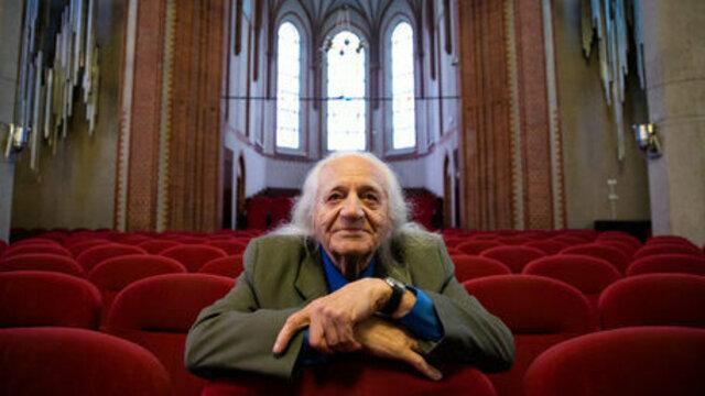 Один из известнейших музыкальных деятелей Калининграда Эдуард Гантовский отмечает 90-летний юбилей (видео)