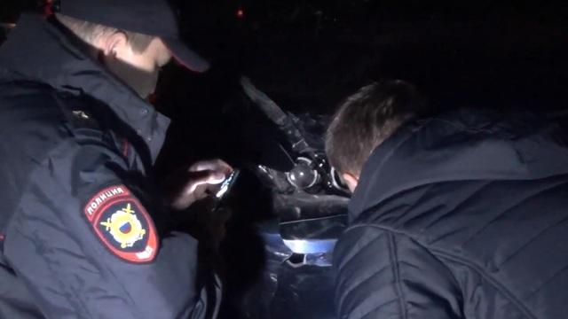 Полиция изъяла машину, на которой сбили женщину с коляской в Пионерском (видео)