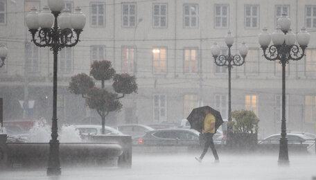 В Калининграде вечером в среду ожидается ливень