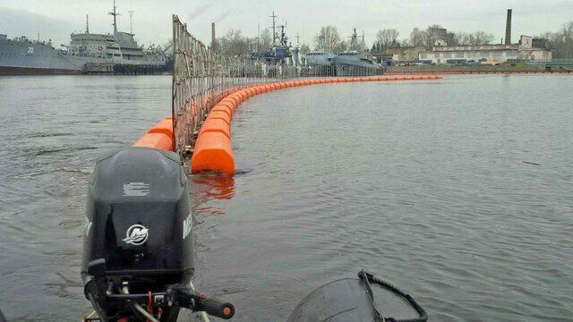 В Балтийске построят плавучие заграждения для защиты базы флота от террористов