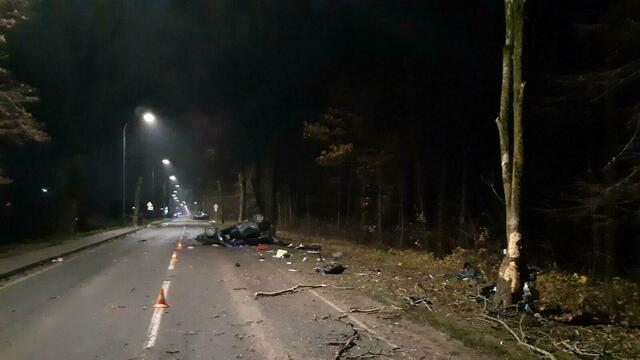 На Мамоновском шоссе лоб в лоб столкнулись два Audi, есть погибшие (фото)