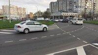 Минус одна полоса: на круговой развязке ул. Горького и Гайдара нанесли турборазметку
