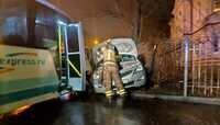 В ДТП на ул. Кутузова с участием Hyundai и маршрутки пострадали двое взрослых и семилетний ребёнок (обновлено, фото)