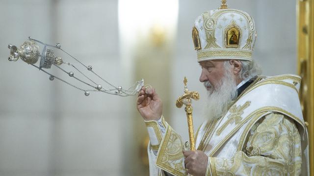 В Калининграде патриарх Кирилл возглавил литургию в соборе Христа Спасителя (фоторепортаж)