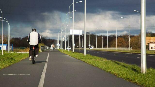 Названы самые популярные у велосипедистов улицы Калининграда