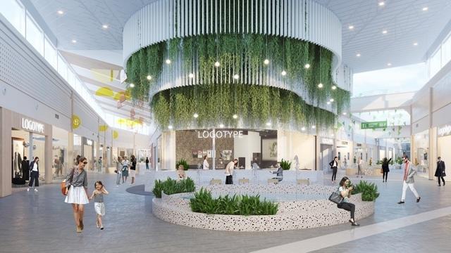 Как будет выглядеть внутри торговый комплекс