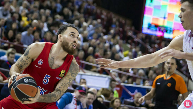 Как баскетболисты ЦСКА вырвали победу у итальянцев в матче Евролиги в Калининграде (фоторепортаж)