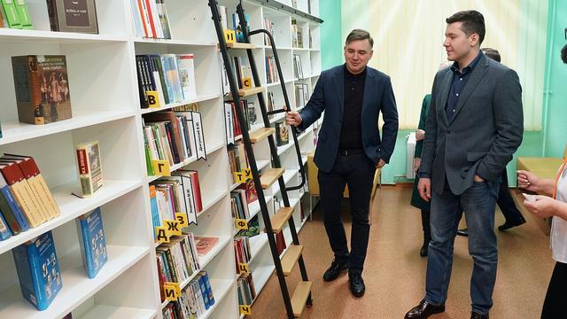 В Советске открылась первая в регионе библиотека нового поколения (фото)