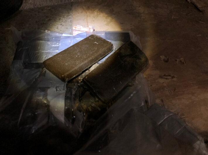 В Подмосковье задержали калининградского дальнобойщика за перевозку 300 кг гашиша - Новости Калининграда   Фото: пресс-служба УМВД РФ