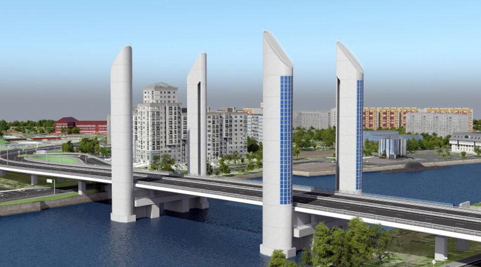 Калининградцам показали будущий шестиполосный мост рядом с двухъярусным (эскизы) - Новости Калининграда | Эскизы предоставлены администрацией Калининграда