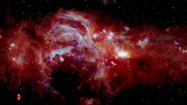 NASA представило самое детальное изображение центра нашей галактики
