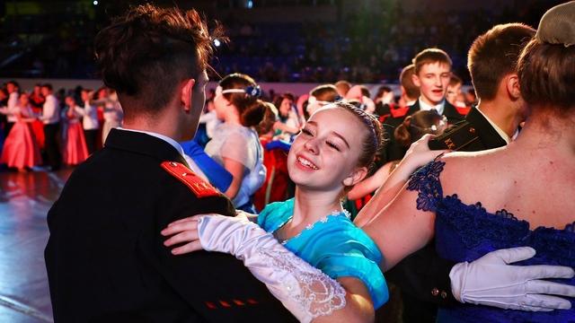 В Калининграде прошёл ежегодный кадетский бал (фоторепортаж)