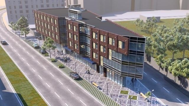 Проектировщик офисного центра на 9 Апреля планирует увеличить площадь застройки