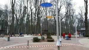 В Парке пяти чувств в Гурьевске сломалась одна из конструкций (фото)