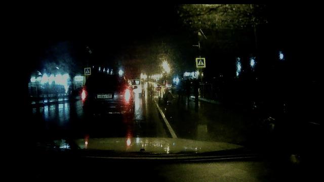 На проспекте Победы Audi на