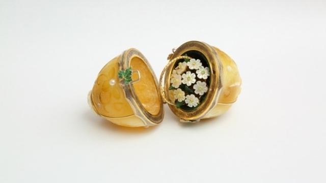 В Калининграде откроется выставка пасхальных яиц с янтарём