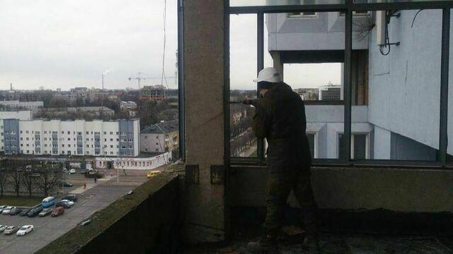 В Калининграде подрядчик приступил к обследованию Дома Советов для подготовки проекта ремонта здания (фото)