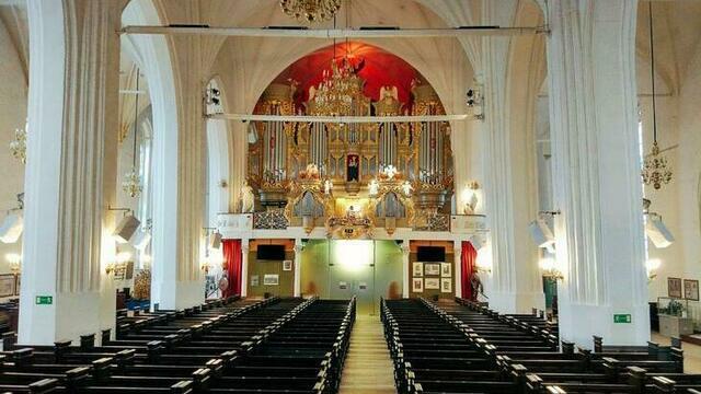 В Кафедральном соборе установили акустическую систему, не имеющую аналогов в России и Европе