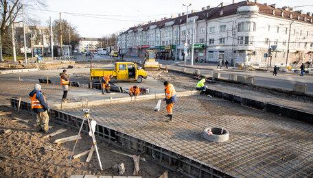 Как идёт ремонт Киевской за три месяца до открытия (фото)