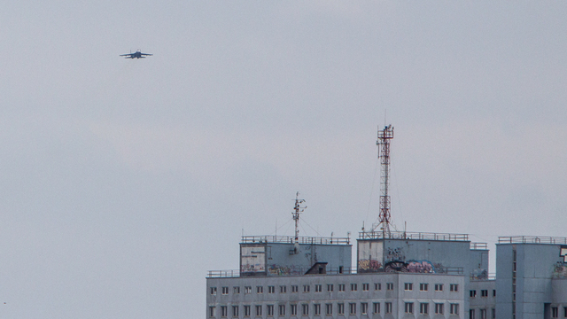 В Калининграде прошли первые полёты авиации для подготовки к параду Победы (фото)