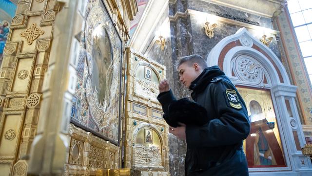 В Калининград прибыла главная икона Вооружённых сил России (фото)