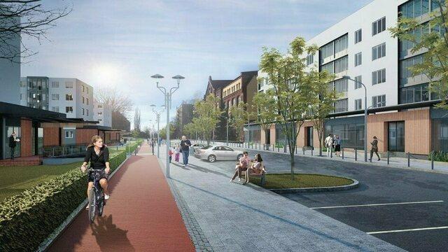 Реконструкция сквера на ул. Рокоссовского начнется в мае
