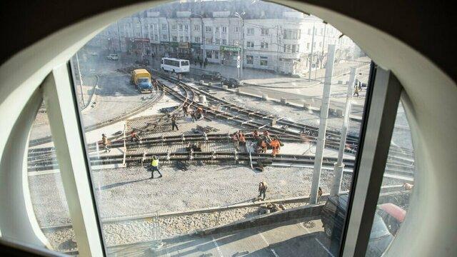 Как идёт ремонт на самом сложном участке ул. Киевской (видео)