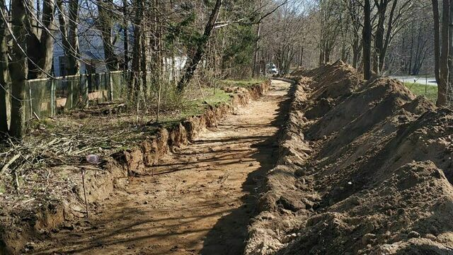 Началось строительство велодорожки между Светлогорском и Зеленоградском