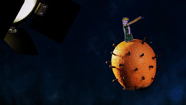 Апельсиновая планета: калининградка создаёт необычные фотосюжеты из продуктов и специй
