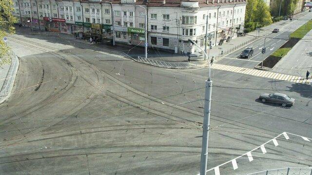 В Калининграде полностью открыли ул. Киевскую: как теперь ездить по ПДД (фото)