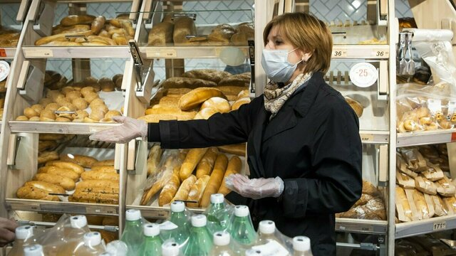 Бабура рассказала, как ходит за продуктами в условиях пандемии