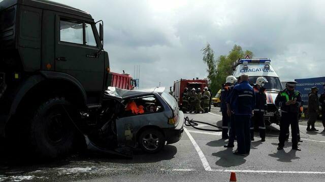 После смертельного ДТП с военным грузовиком и Honda Civic на ул. Емельянова возбудили уголовное дело