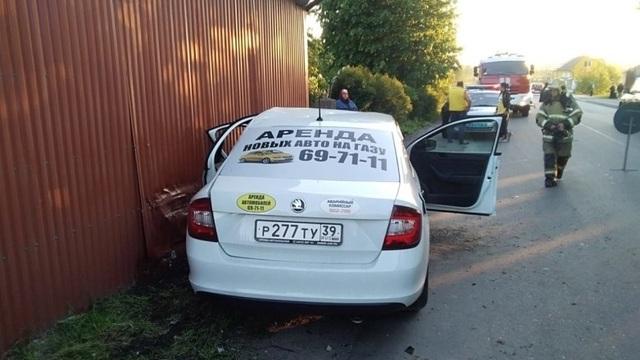 В Гурьевском районе в ДТП с двумя легковушками пострадали люди