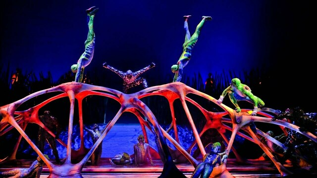 Cirque du Soleil покажет лучшие моменты трёх шоу