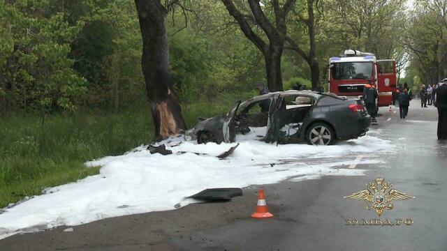 Суд арестовал устроившего ДТП с двумя погибшими на балтийской трассе водителя Lexus