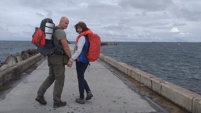 600 км пешком: пара из Калининграда и их щенок отправляются в путешествие по Центральной России