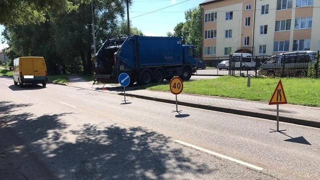 В Гурьевском районе на тротуаре сбили велосипедиста (фото)