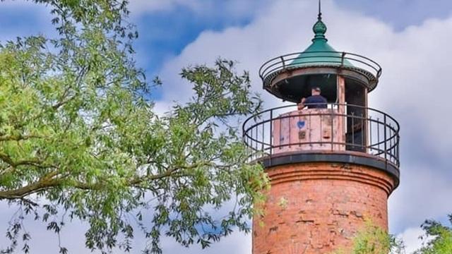 Минкульт России передал Музею Мирового океана маяк Риндерорта