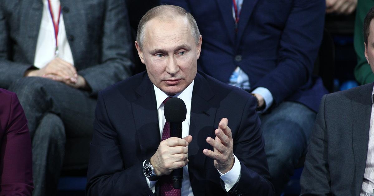 Путин заявил об историческом шансе решить жилищный вопрос в стране