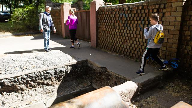 Глава Калининграда нашёл три недочёта в реконструкции сквера на Рокоссовского