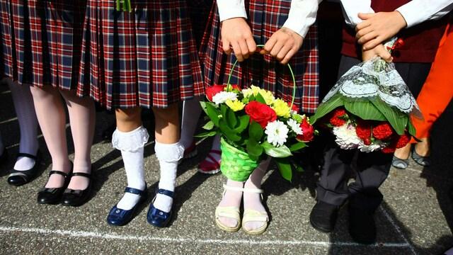 В Роспотребнадзоре рассказали, как 1 сентября пройдут школьные линейки