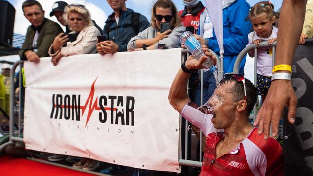 В Зеленоградске прошли соревнования по триатлону Ironstar (фоторепортаж)