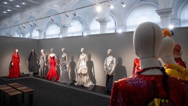В Калининградском музее изобразительных искусств выставили платье с закрытия Олимпиады-80