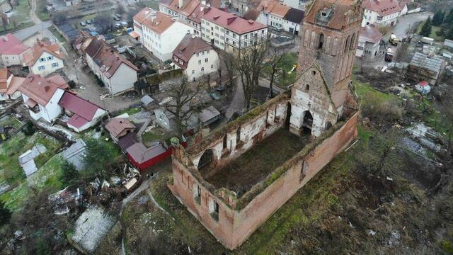 В регионе планируют законсервировать и подсветить кирху XIV века со смотровой площадкой