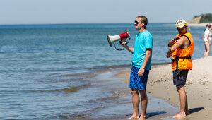 В Светлогорске спасли тонущих в море семилетнего мальчика и его сестру