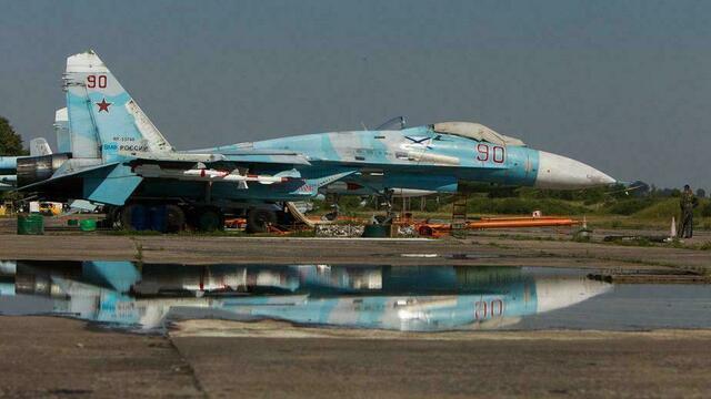 Российский Су-27 поднимался на перехват разведчика США над Балтикой