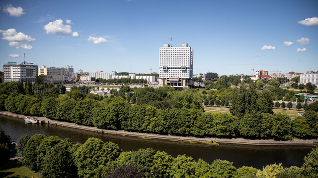 Проект частичного демонтажа и реконструкции Дома Советов покажут на следующей неделе