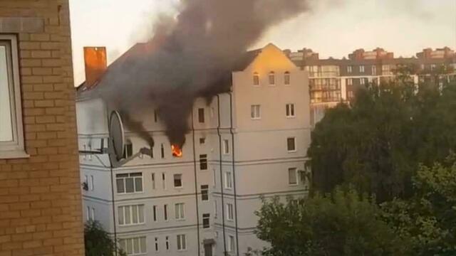 В МЧС назвали причину пожара в квартире многодетной семьи на Комсомольской